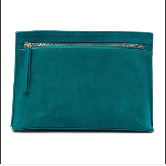 French Connection- Kiera Clutch Teal Blast✨